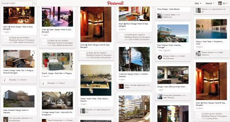 Pinterest for Hotels - Hotel Design, Hotel Architecture, Brand and Style Credentials