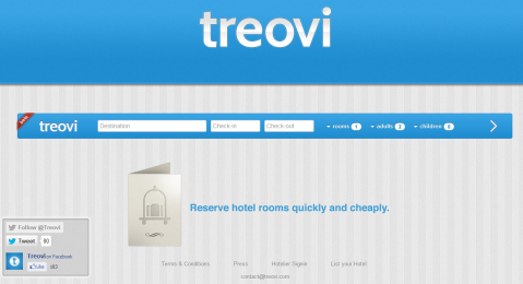 Commission Free Hotel Bookings with Treovi