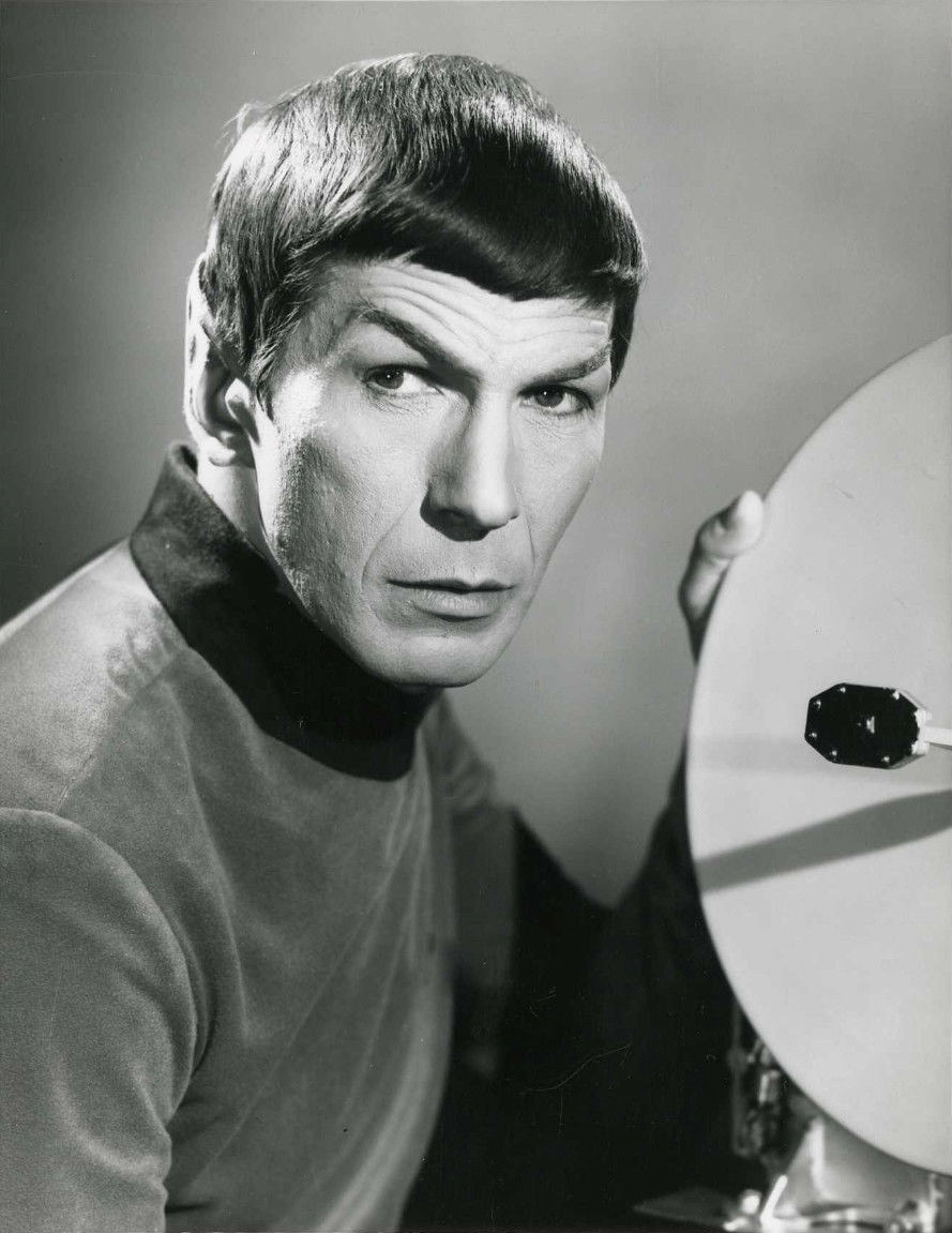 Leonard Nimoy as Spock 1967 - By NBC Television (ebay item front release) [Public domain], via Wikimedia Commons